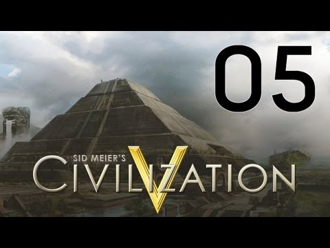 Civilization V Gods & Kings Let's Play Part 5 - Pretty Unhappy |
