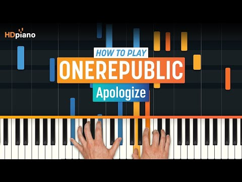 """Apologize"" by OneRepublic | HD Piano (Part 1)"