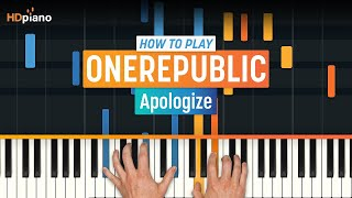 """Apologize"" by OneRepublic 