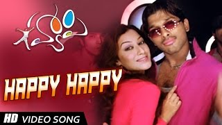 Happy Happy Full HD Video Song || Happy Movie || Allu Arjun, Genelia