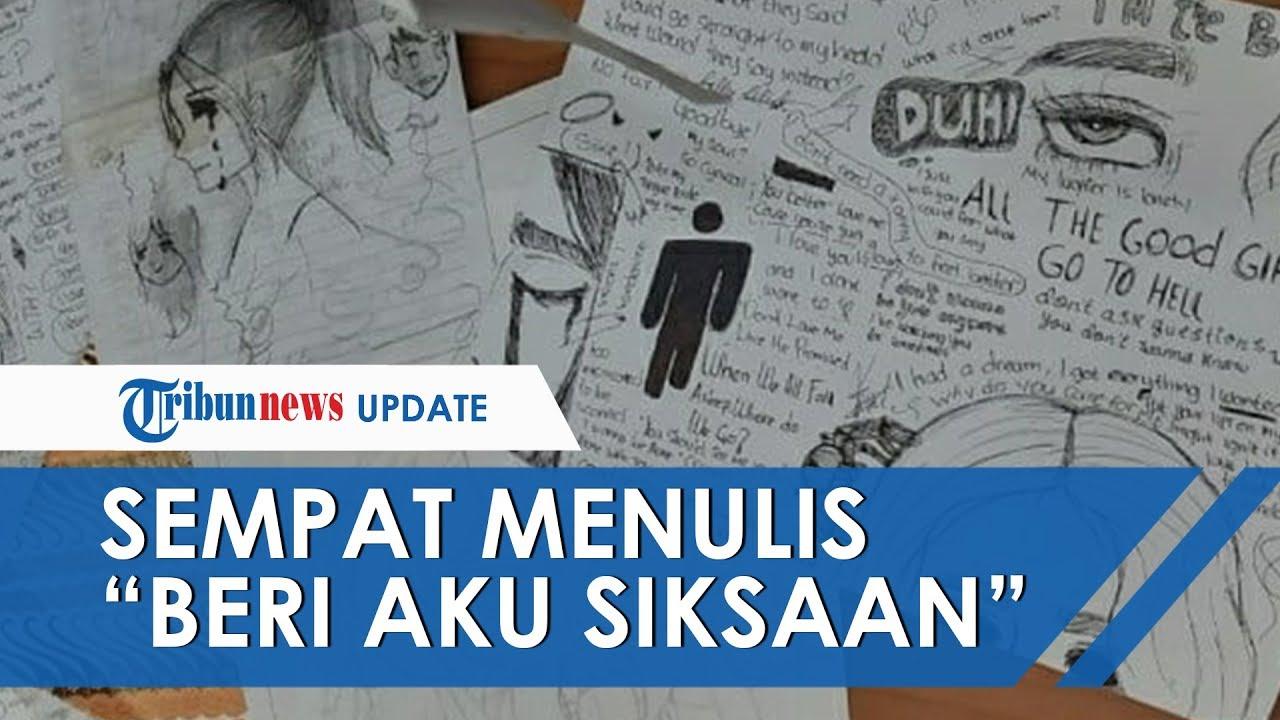 Gambar dan Tulisan yang Dibuat Siswi SMP Pembunuh Balita di Lemari: Beri Aku Siksaan, Mau Siksa Bayi