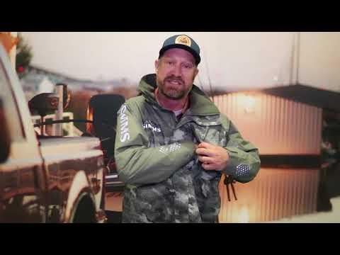 Simms Challenger Jacket At 2018 Bassmaster Classic