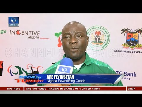 Feyinsetan Wants Nigeria To Host And Win Powerlifting Champ | Sports Tonight |