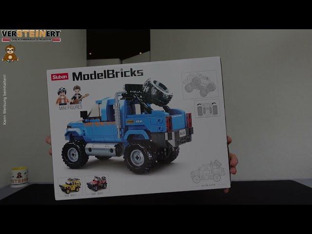 Sluban M38-B0813 Power 4x4 Offroad Truck Blau