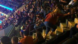 Are Steep Stadium Seats Dangerous?
