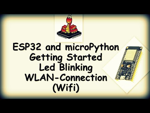 MicroPython and UPyCraft on ESP32: 6 Steps