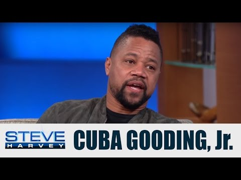 Cuba Gooding, Jr. : Playing OJ Was An Emotional Roller Coaster || STEVE HARVEY