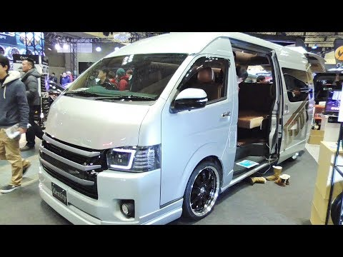 ハイエース カスタム 内装 コミューター GL ACTIVE FIELD Toyota Hiace 200 custom IFFU Indentity modified