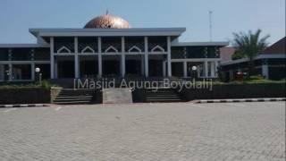 Shalawat Tarhim - sebelum adzan subuh dan maghrib (Masjid-Masjid Jawa Tengah)