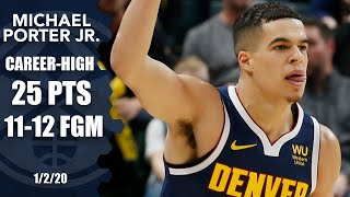 Michael Porter Jr. scores career-high 25 points for the Nuggets   2019-20 NBA Highlights