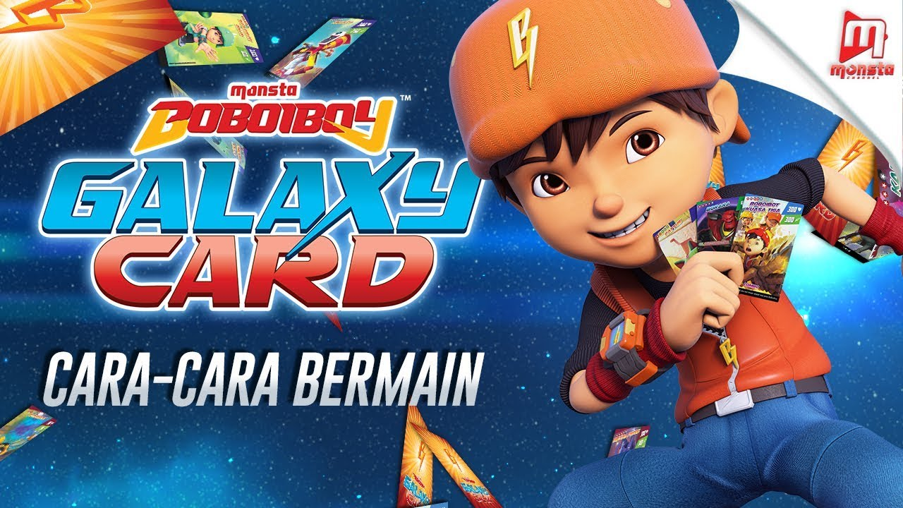 Cara Cara Bermain Boboiboy Galaxy Card Youtube
