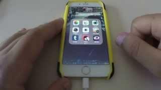 Como Tomar un Screenshot iPhone 6