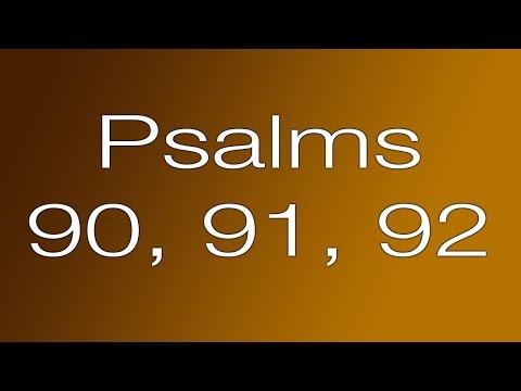 Psalms 90, 91, 92 - Lifespring! Family Audio Bible