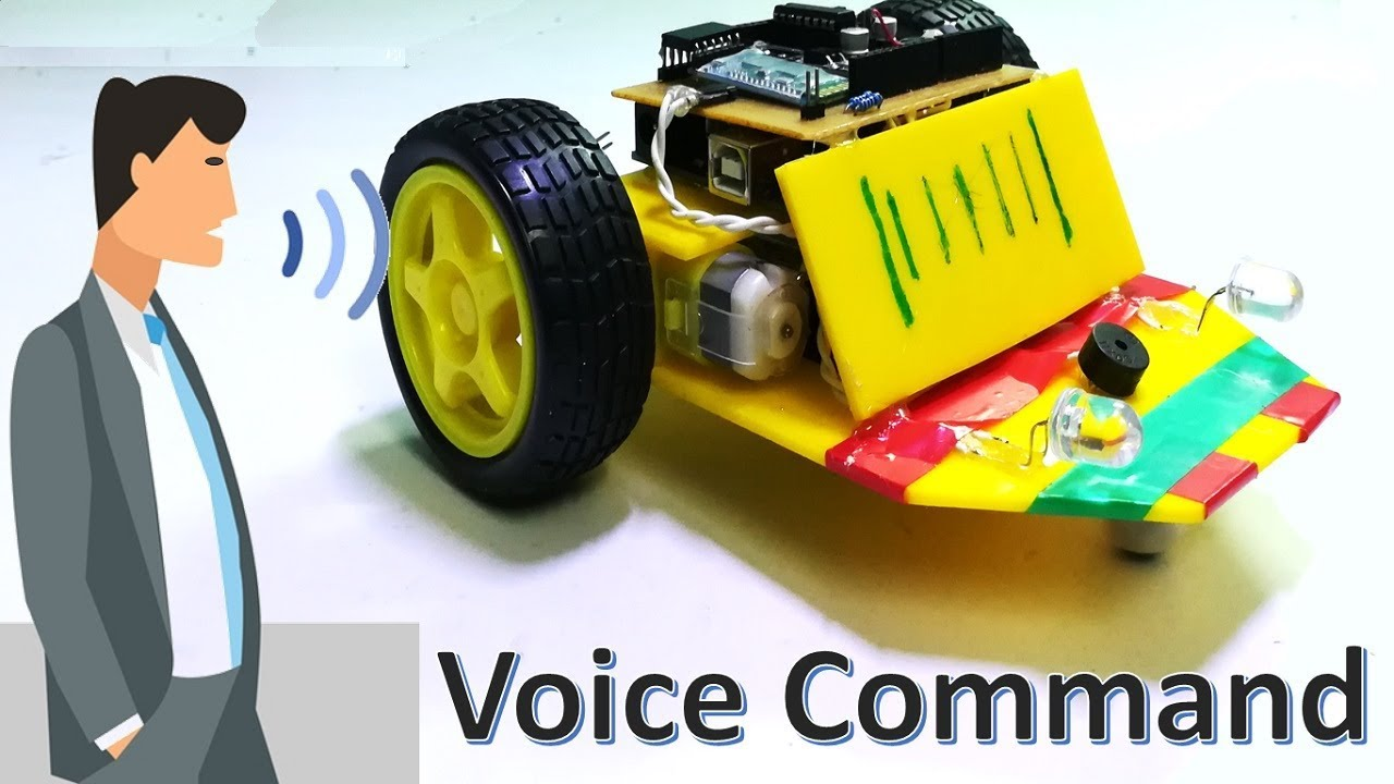 How to make voice command control UGV robot