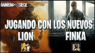 JUGANDO CON LOS NUEVOS FINKA Y LION!! ◄► Caramelo Rainbow Six Siege Gameplay Español