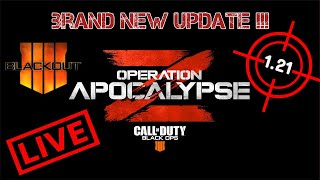 **NEW UPDATE 1.21** LIVE ** COD-Operation Apocalypse Z -Call Of Duty Black Ops 4+Giveaway!