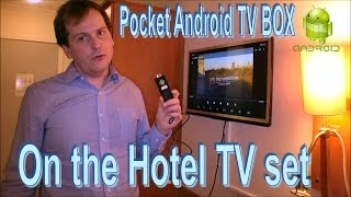 Android HDMI TV Stick / Box with me at a Hotel - 143