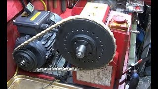 Chinese Mini Lathe Indexing Pulley Making & Using A Captive Mandrel