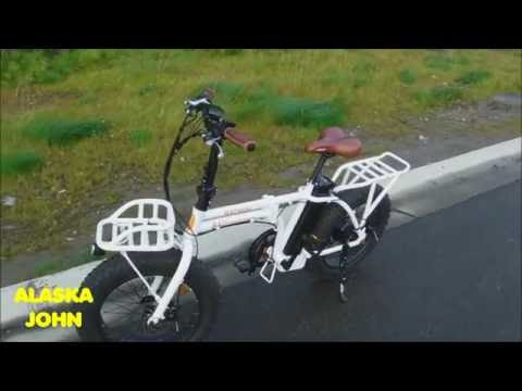 RadMini Folding Electric Bicycle - Rad Power Bikes - Ride August 19th 2016