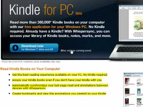 Kindle for PC and Mobile - Free Download - Tucows Downloads