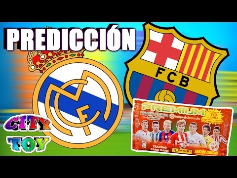 R.Madrid contra Barcelona en nuestra  Predicción  Adrenalyn XL Premium