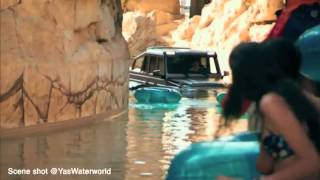 VIDEO  Top Gear host takes Mercedes G63 6x6 test drive at UAE's Yas Waterworld