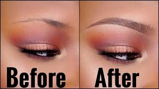 The BEST EYEBROW Tutorial for SPARSE/THIN Brows! Beginner Friendly