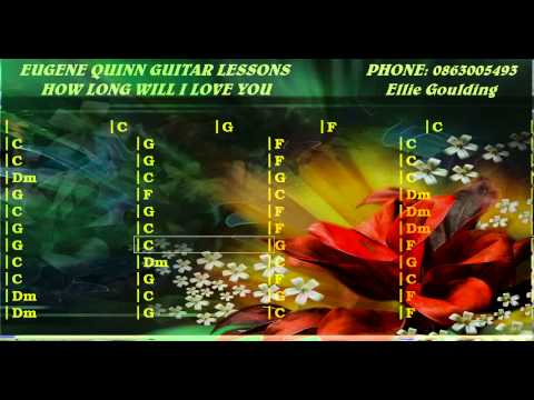Ellie Goulding - How Long Will I Love You - Guitar Lesson