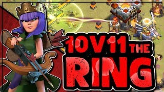 WRECK THE TH11 RING BASE | 10v11 TWO STAR STRATEGIES | Clash of Clans