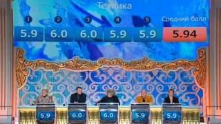 """Т.Тотьмянина и М.Шабалин - Sam Brown """"Stop"""""""