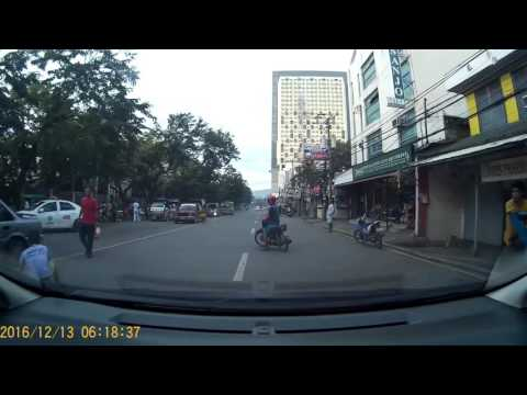Motorcyle accident infront of Vicente Sotto