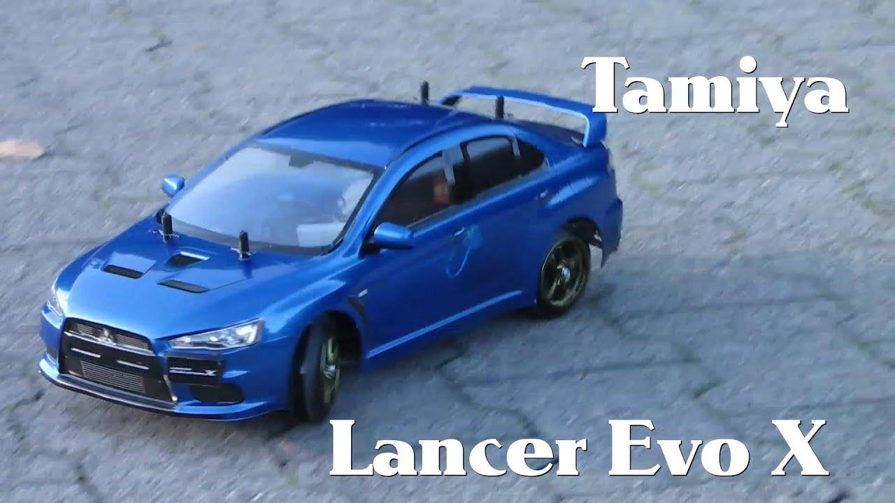 Tamiya Mitsusbishi Lancer Evo X Df Ra Drift Sliding