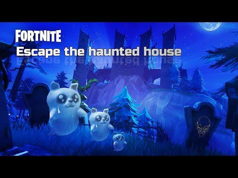 Can We ESCAPE This HAUNTED SCARY FORTNITE HOUSE!