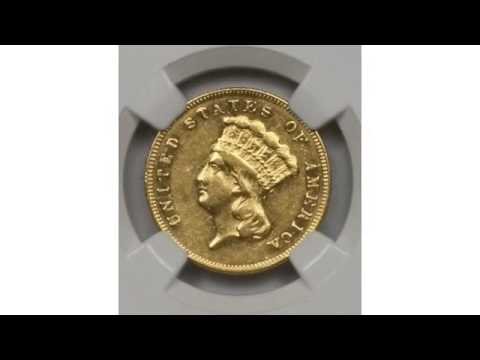 The History Of The Indian Head $3 Gold Piece