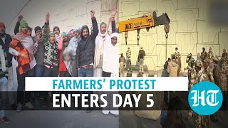 Farmers threaten to block Delhi entry points; reject talks offer l All updates