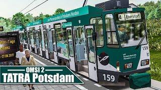 OMSI 2: Potsdamer TATRA-Straßenbahn #2: Verbremst mit der Tram | Straßenbahn Simulator