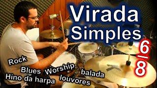 Virada Simples em 6/8 Super Versátil