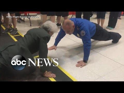 Former Army nurse, 84, proves she is still battlefield tough   ABC News