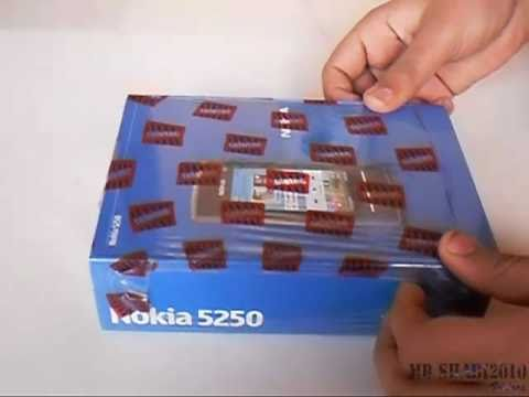 Nokia 5250 Unboxing High Quality