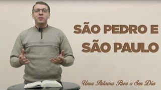 Baixar SÃO PEDRO E SÃO PAULO   MARCELO STREIT   01/07/18