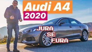 Novi Audi A4 - biznis klasa - Jura se Fura