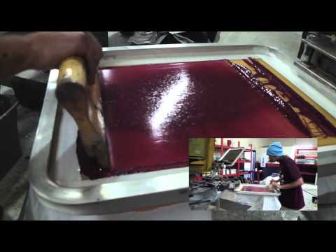 Branded Screen Printing 4 Color Process