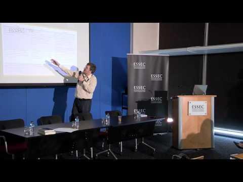 Presentation of Matthias Thiemann & Jan Lepoutre - ESSEC Conference