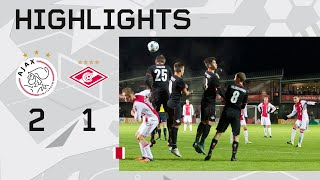 Highlights Ajax A1 - Spartak Moskou