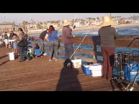 Imperial Beach Pier fishing San Diego,CA.