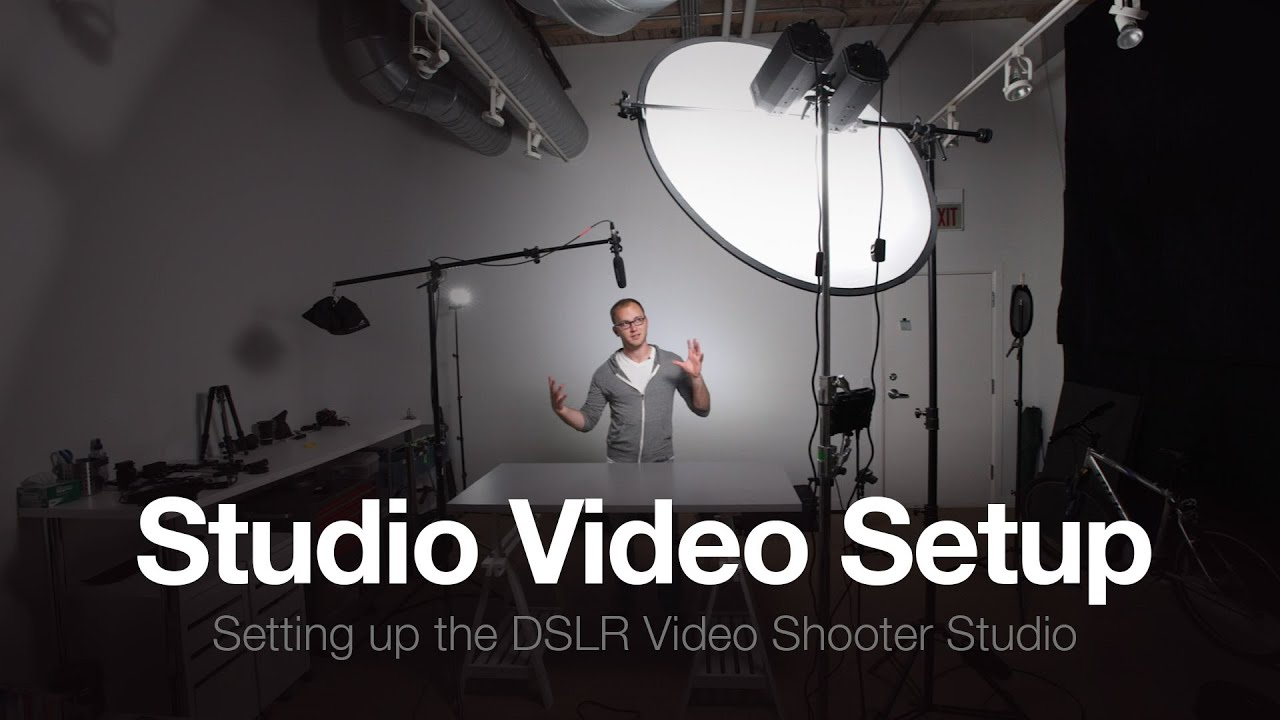 & The Studio Part 3: How to Setup a Video Studio - YouTube azcodes.com