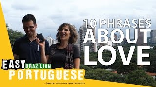 10 phrases about love - Easy Brazilian Portuguese Basic Phrases (16)