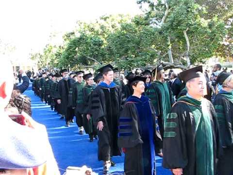 Alvera UCLA Geffen School of Medicine Graduation Entrance