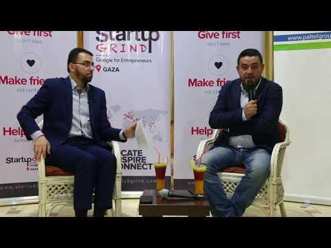 Rami Aldraimli (Masahreq) at Startup Grind Gaza