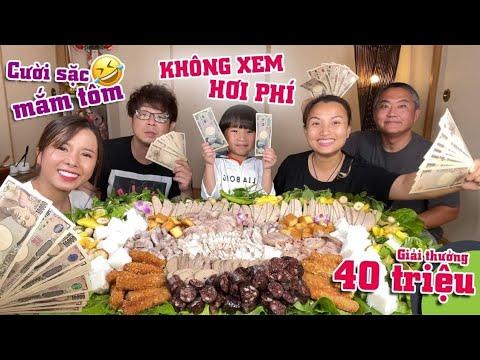 Download Chiêu đãi Vc bà Nhân mâm bún đậu cùng 7 loại mắm & Giải thưởng 40triệu cho ng ngừng ăn cuối cùng